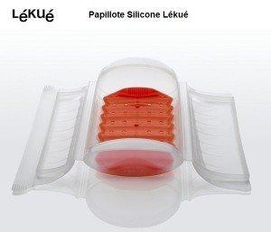Papillote silicone Lékué - Coffret vapeur avec Filtre
