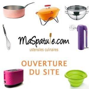 Ma Spatule se lance dans la vente en ligne d'ustensiles de cuisine !