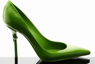 Fête des mères : Escarpin-Stiletto-Vert chocolat