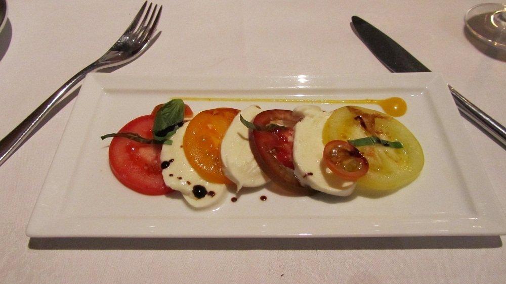 Tomates et mozarella